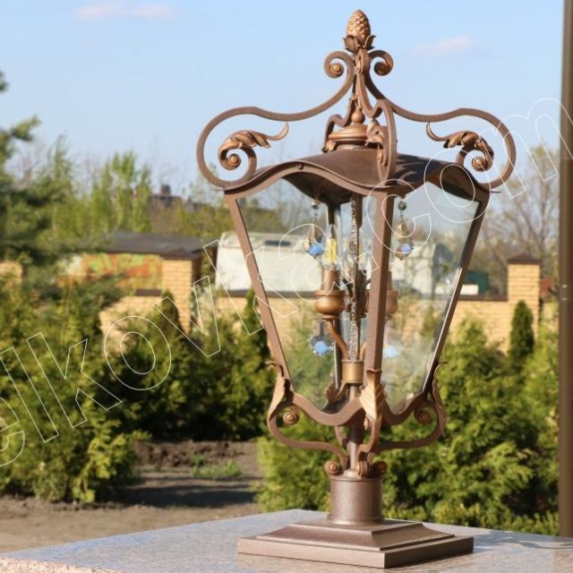 Beautiful forged lantern