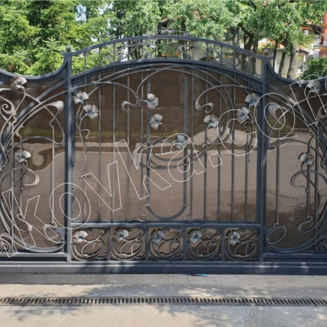 Automatic entry gates