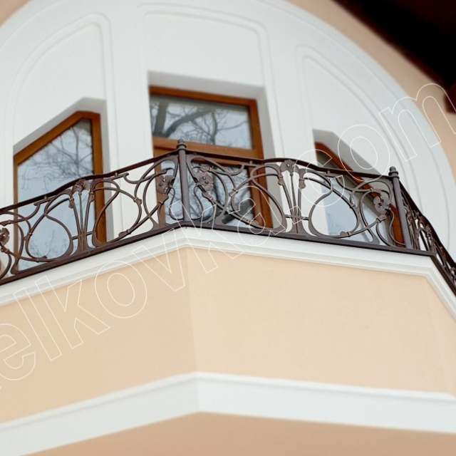 Modern balcony forging
