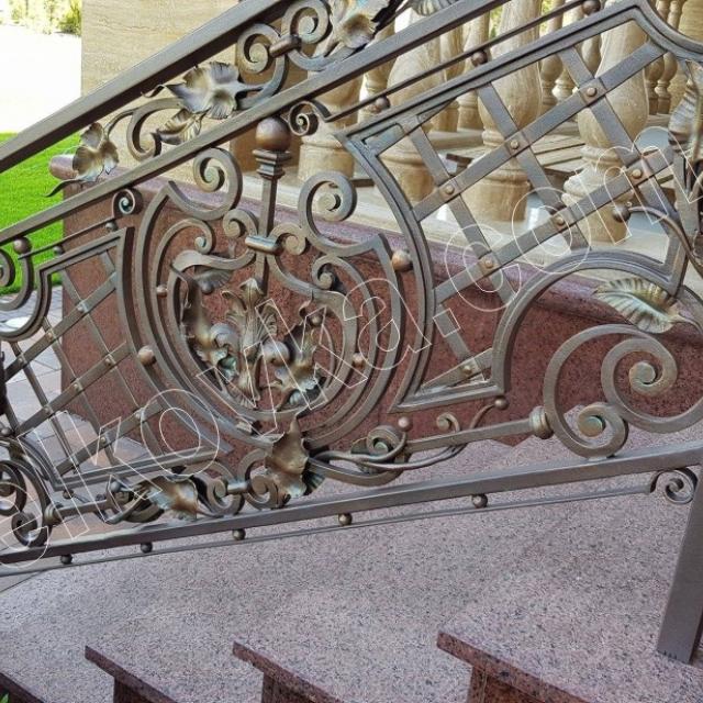 Installation of stair railings