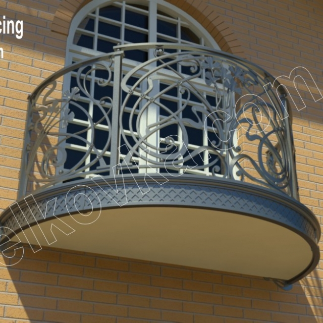 Balcony railing project