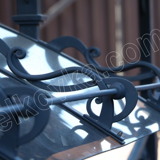 Forged basement canopy