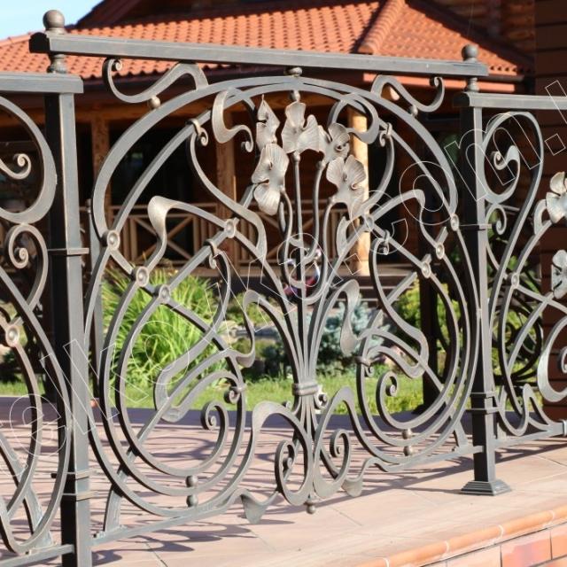 Terrace fencing