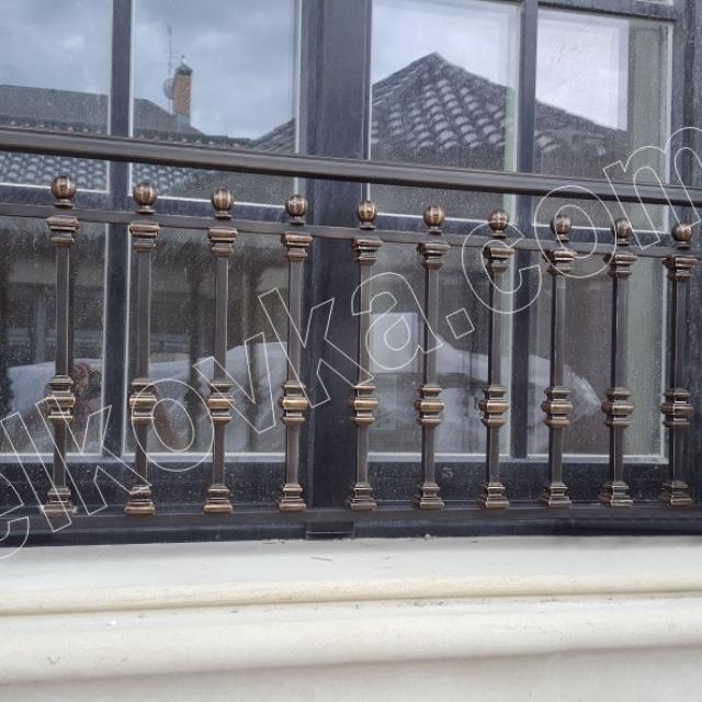 French balcony forging