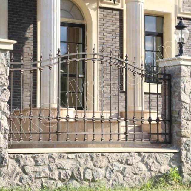 Beautiful transparent fence