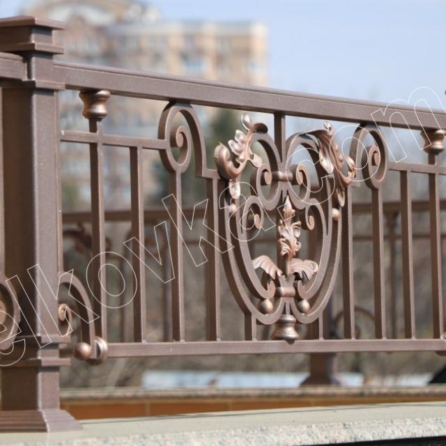 Fence forging