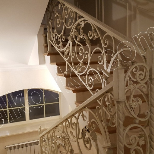 Staircase in the house