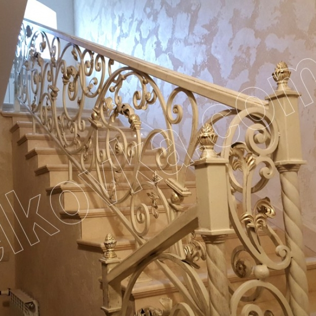 Classic staircase in the house