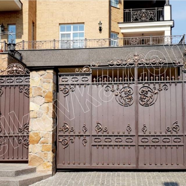 Forged entrance gates