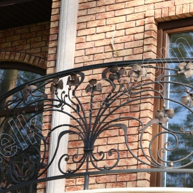 Round balcony provence