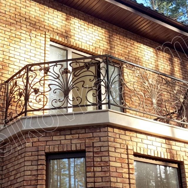 Small forged balcony