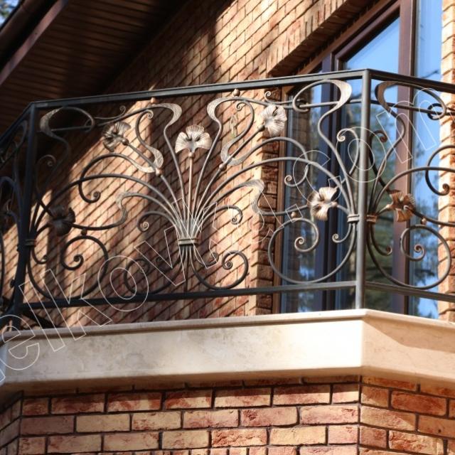 Forging balcony railing