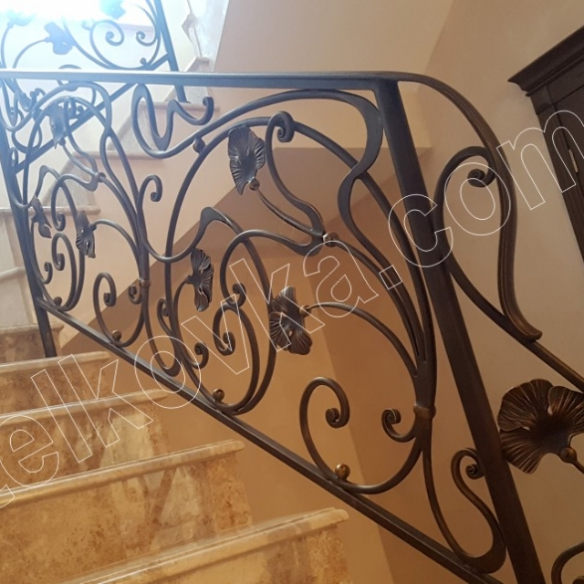 Easy staircase in the house