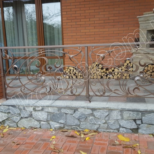 Forged railings