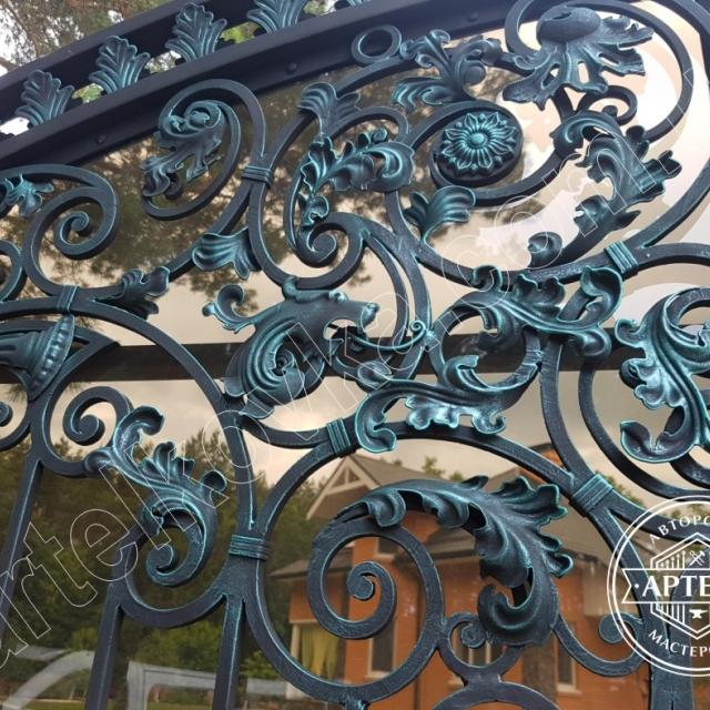 Beautiful wrought iron gates