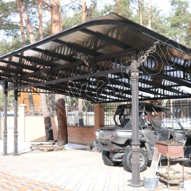 Forged carport