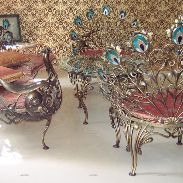 Furniture set Peacock