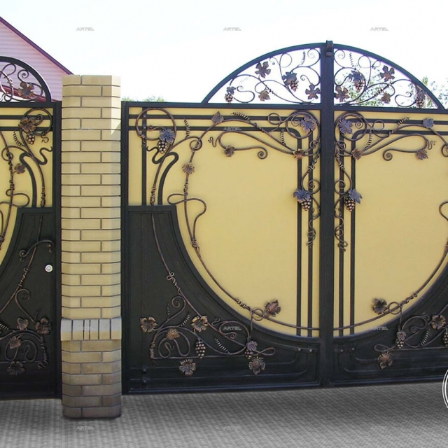 Forged swing gates