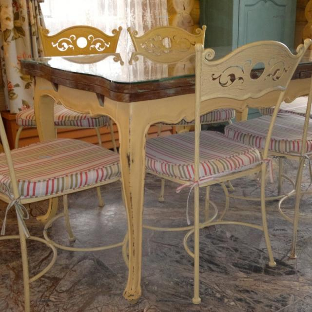 Forged furniture Provence