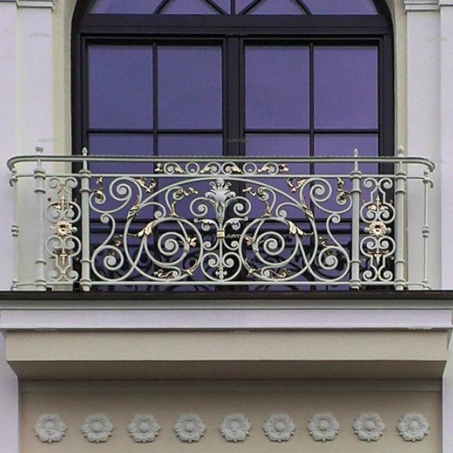 Forged pseudo balcony