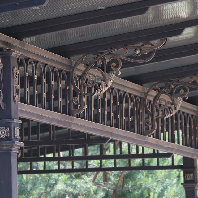 Forged canopy. Polycarbonate.