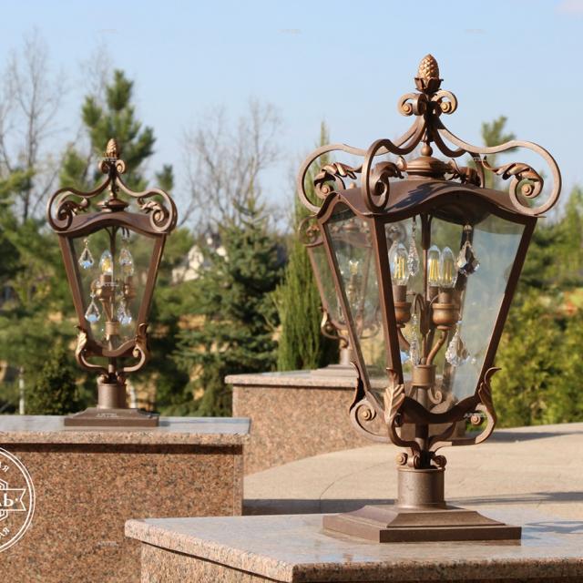 Forged lantern