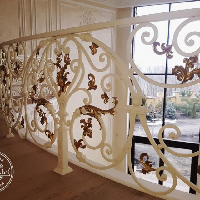 Second light balcony railing