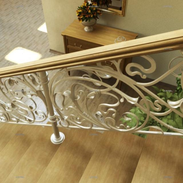 Staircase railing modern