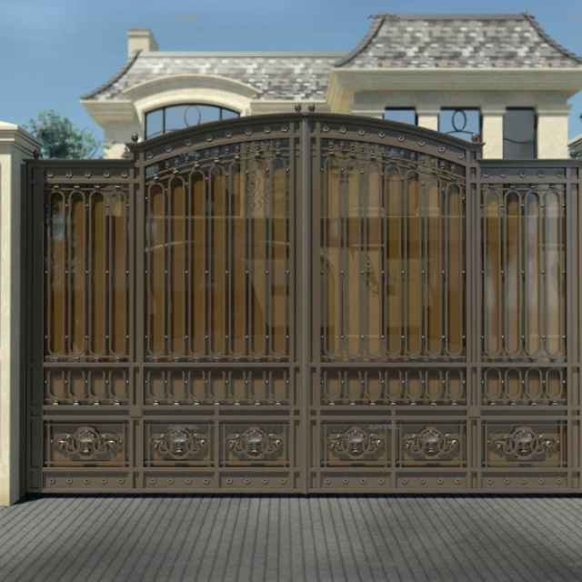 Automatic metal gates