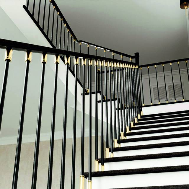 Beautiful modern staircase