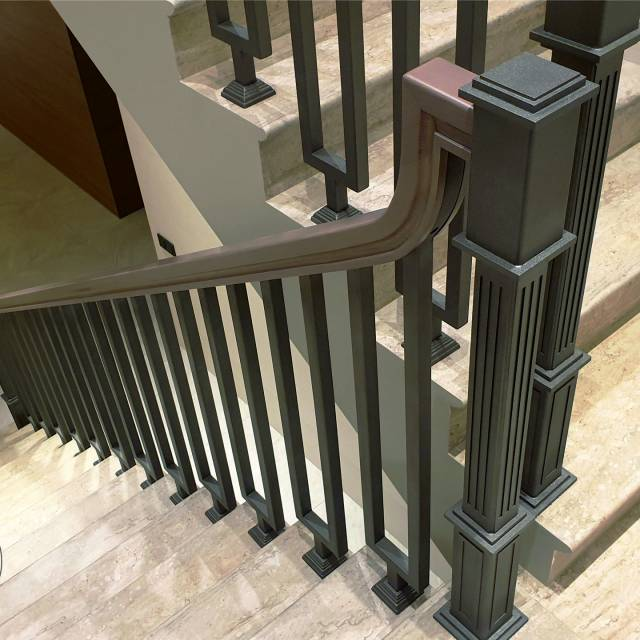 Railing in the house