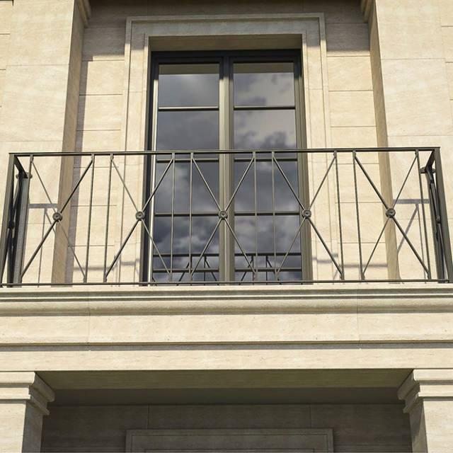Balcony of a modern house