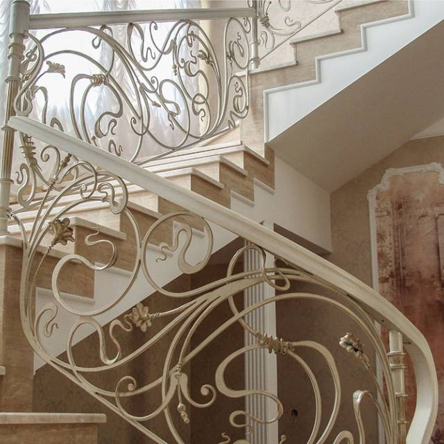 Forged marble staircase