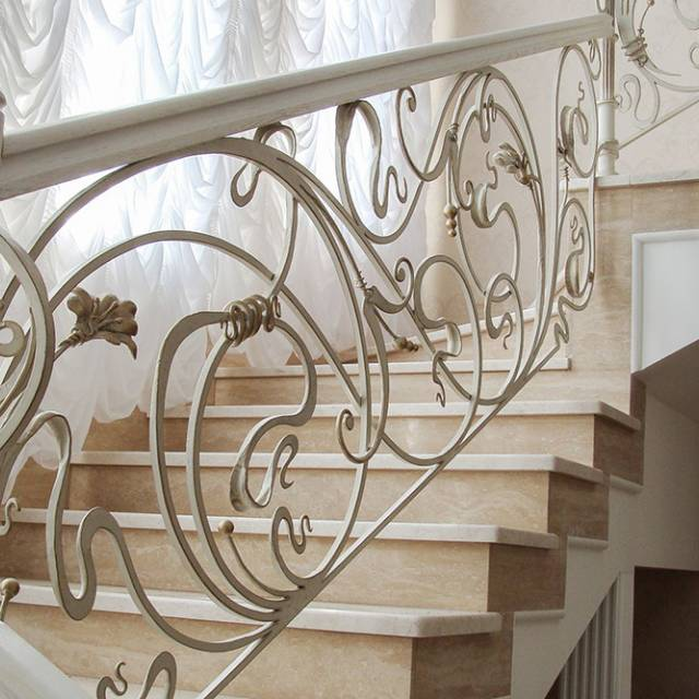 Beautiful staircase in the house