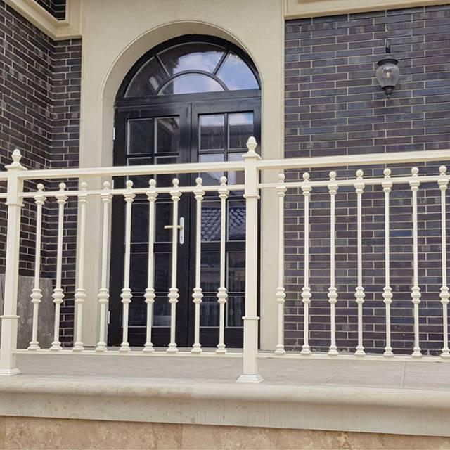 Modern terrace railing