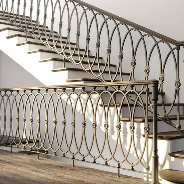 Staircase in a modern interior