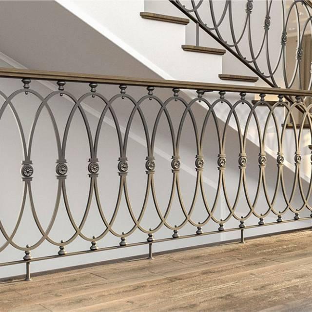 Modern neoclassical railings