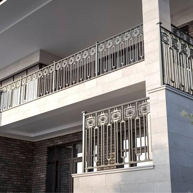 Metal railings for the modern home